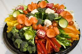 fruit and veggie plate