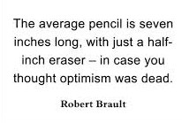 pencil optimism