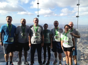 Willis Tower Climb 2012