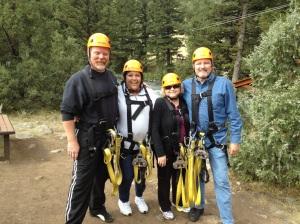 Zip Line in Montana 2013