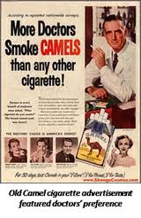 camels ad from 40s