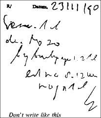 illegible prescription