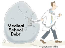 medical  school debt cartoon
