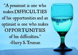 pessimist and optimist  harry truman