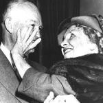 hellen Keller with President Eisenhower