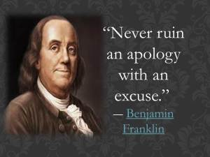 Franklin quote