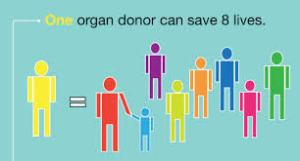 organ donoars save lives