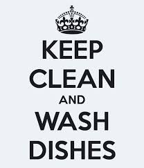 wash dishes