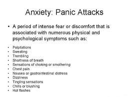 anxiety symptoms