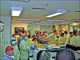 medical staff waiting