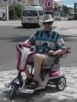 bob on scooter bahamas