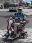 bob on scooter bahamas