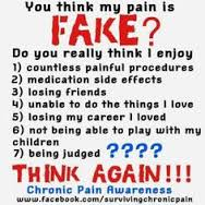 fake chronic pain